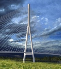 one of two designs for the bridge
