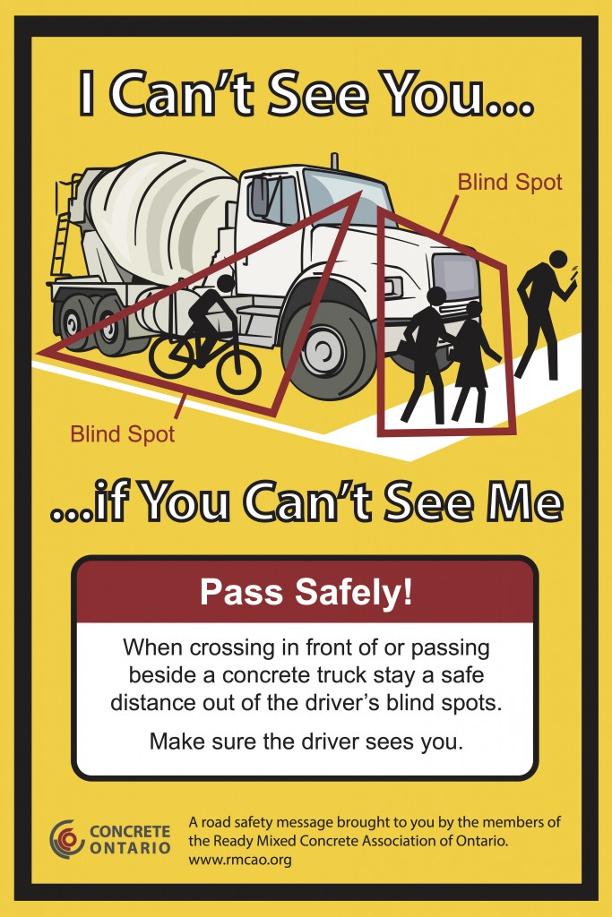 blindspot awareness poster