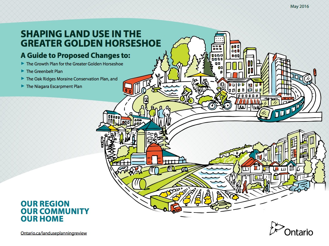 golden horeshoe growth plan