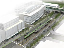 Cooksville station rendering