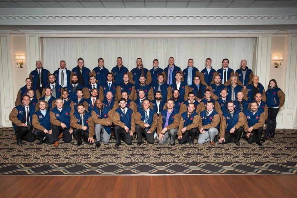 Graduates of the Carpenters Union apprenticeship program