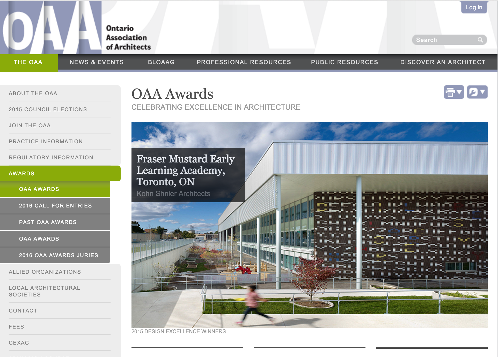OAA AWARDS