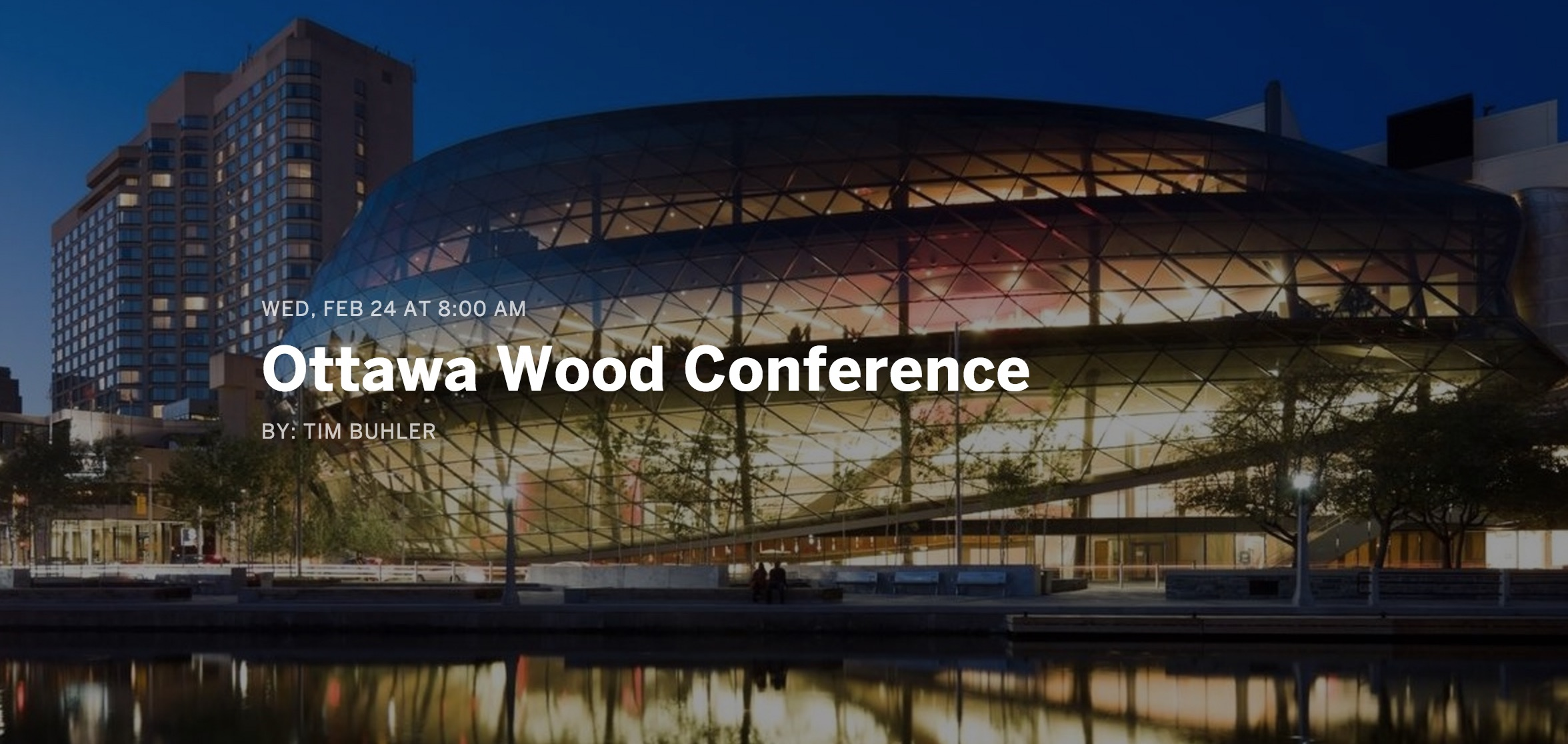 Woodworks conference