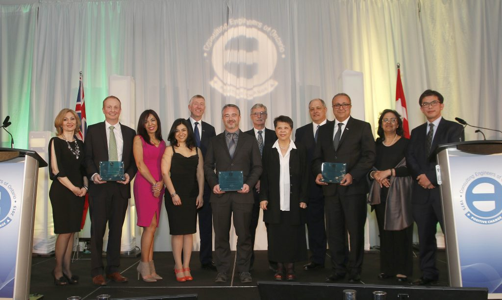 2016 OCEA Willis Chipman Award Winners _ CH2M Hill Canada Hatch Mott MacDonald AECOM