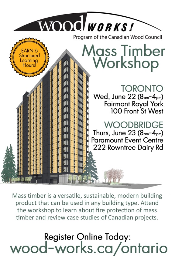 mass timber workshop