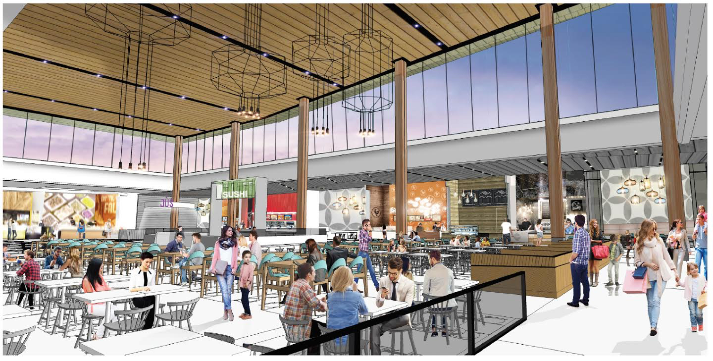 devonshire mall renovation