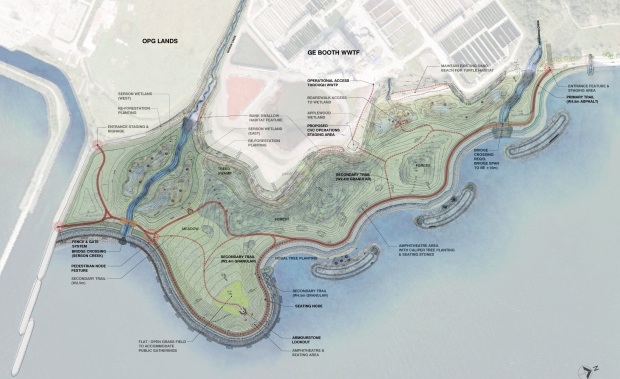 lakeview water rendering