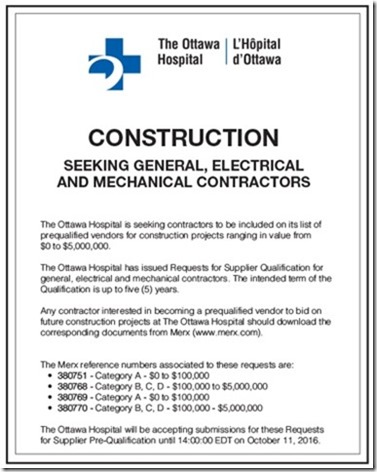 updated Ottawa Hospital ad