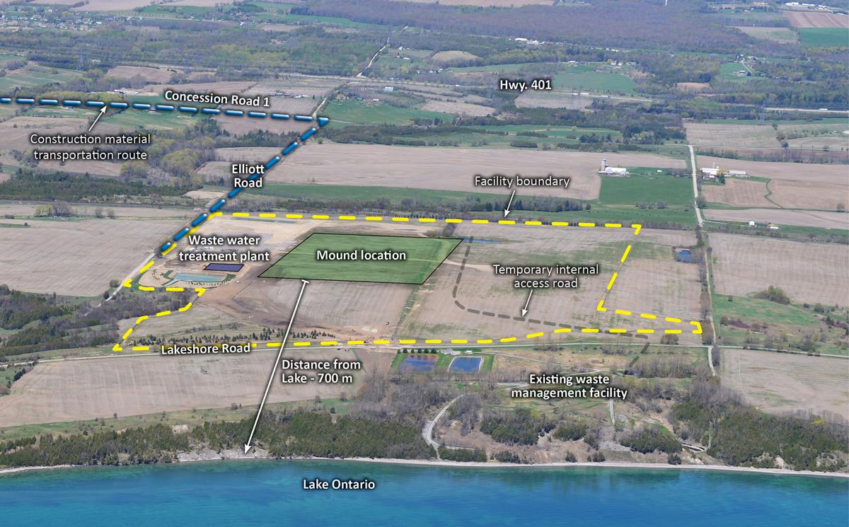 Port Granby waste site