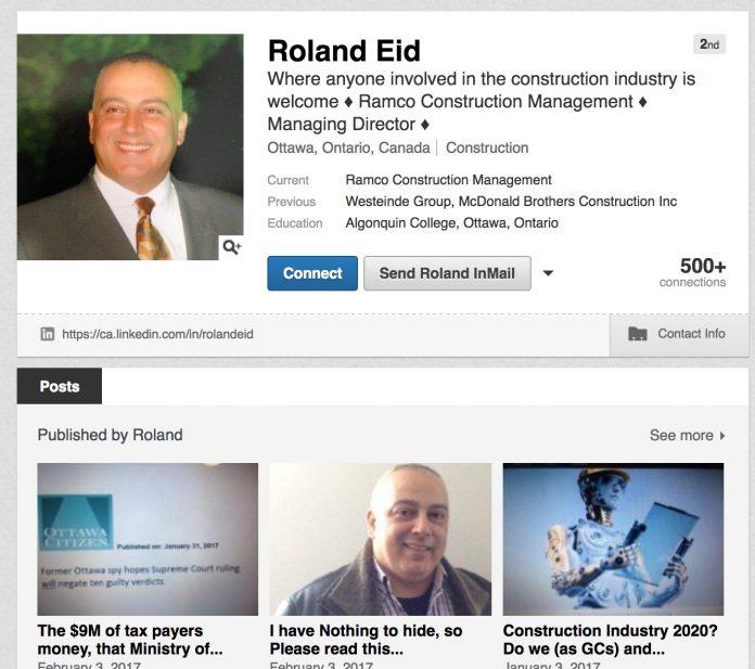 Roland Eid linkedin