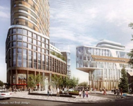 rendering mall project