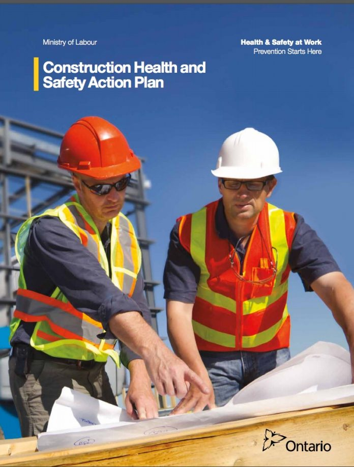 Construction safety action plan