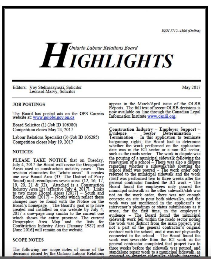 olrb highlights