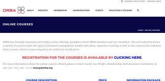 orba buildforce courses