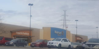 the walmart store in cambridge on