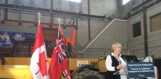 Deb Matthews speaking