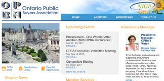 OPBA bidding opportunities