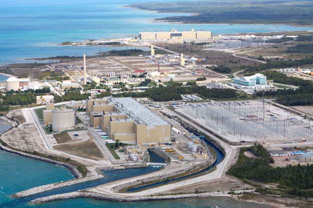 Bruce Power site plant