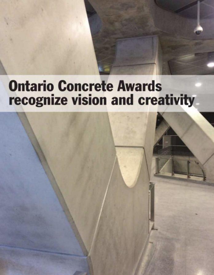 concrete awards cover