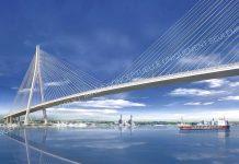 Gordie howe bridge rendering