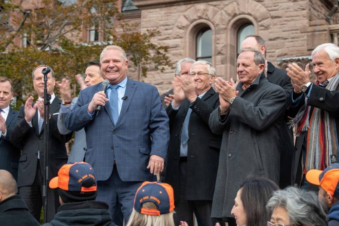 doug ford laborers