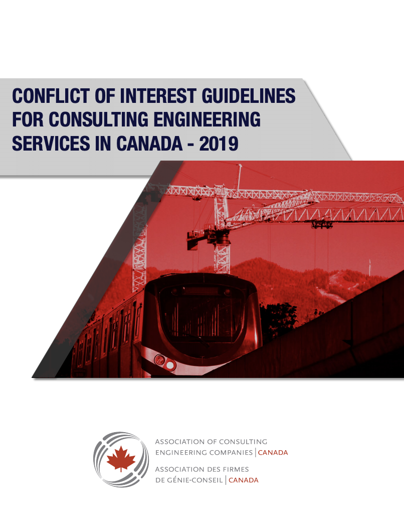 ACEC publishes new national conflict of interest guidelines