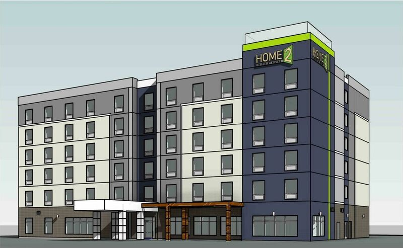home2suites rendering