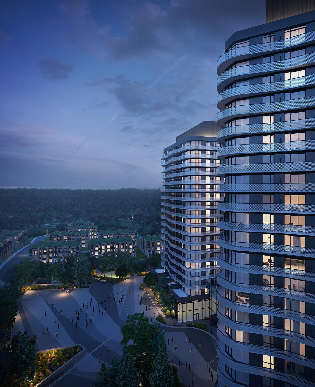 Two Garage Condo Developments Planned For Martin City Area: Primont Homes Proposes Condo Towers, Townhouses In