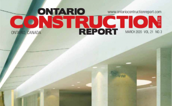 ontario construction report march 2020 cover