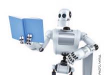 machine learning stock image