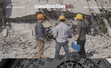 Constructionlab website