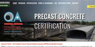 precast certification image