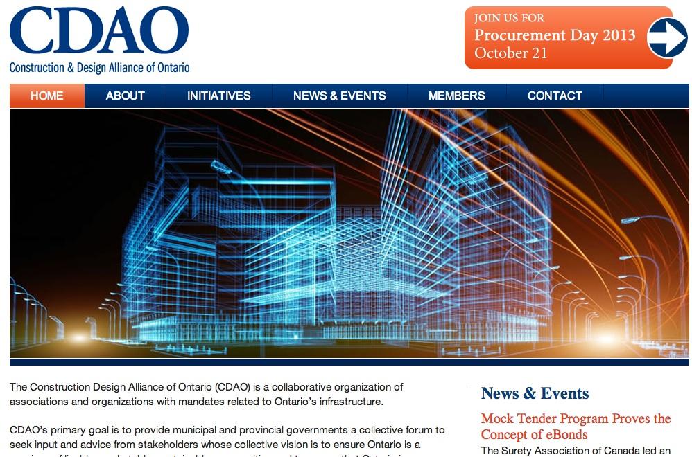 CDAO website