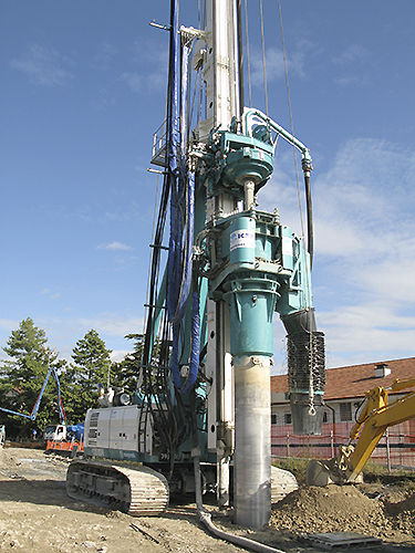 piling drill rig