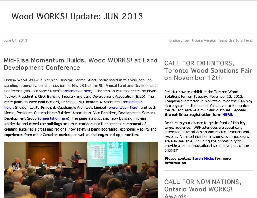 woodworks update